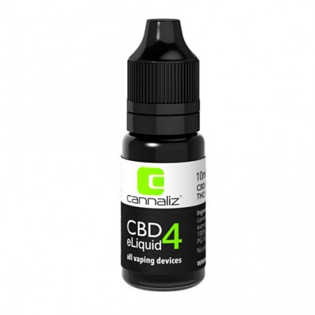 Cannaliz E-Liquid 4% CBD